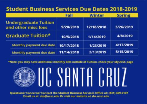 Ucsc Graduation 2020.Ucsc Calendar 2019 2020 Calendar
